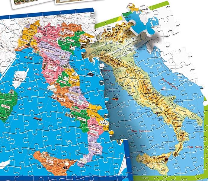 Cartina Fisica Dell Italia Per Bambini.Puzzle Clementoni 12026 Scopriamo L Italia Opinioni E Prezzo Di Febbraio 2021